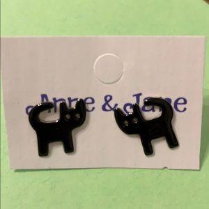 Jewelry - Black Cat Earrings